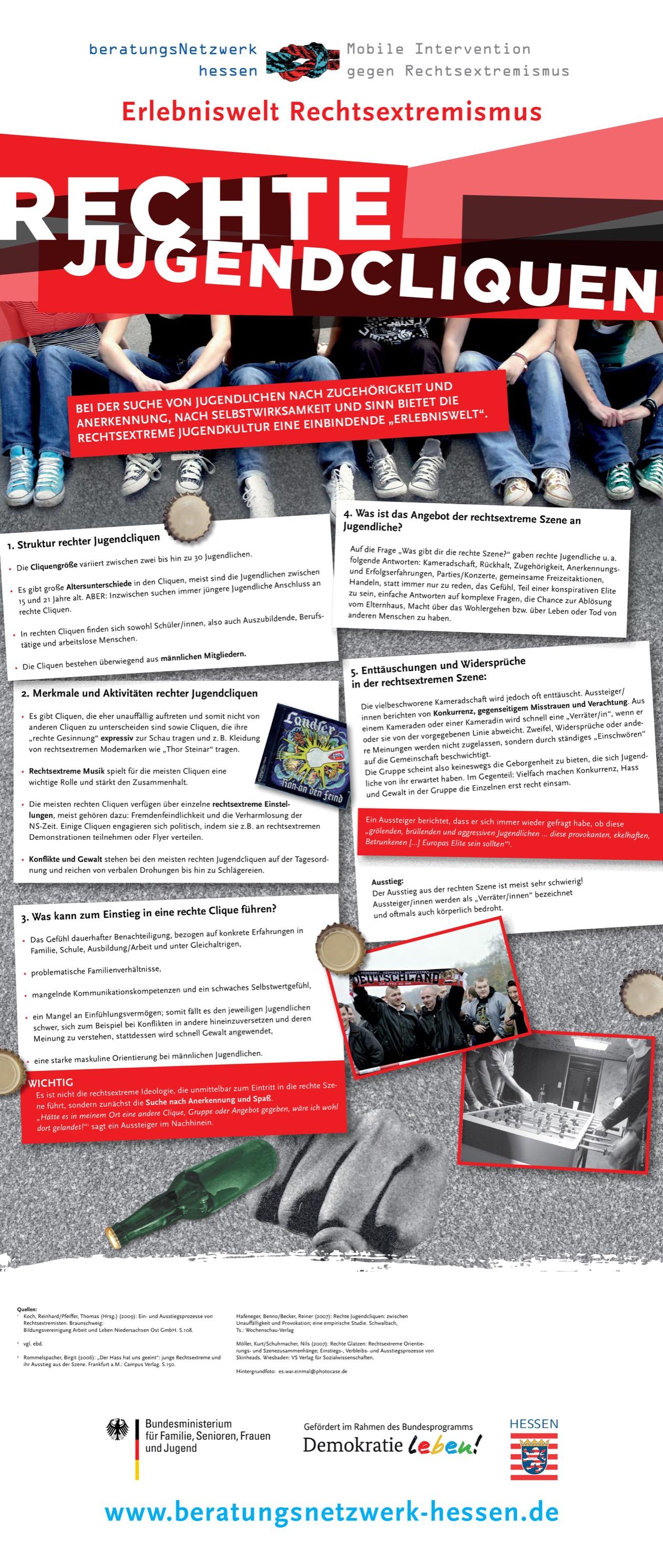 Rechtsaussen Mittendrin Eine Ausstellung Uber Rechtsextremismus Erscheinungsformen Und Handlungsmoglichkeiten Rechte Jugendcliquen